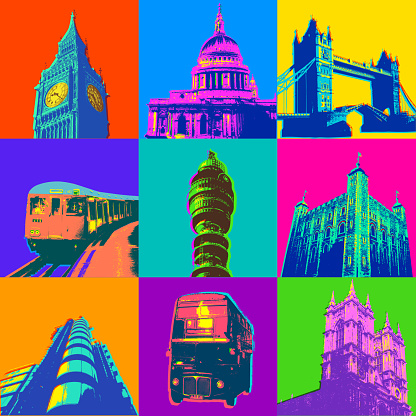 London Buildings and Icons