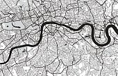 London city map. Map data © OpenStreetMap contributors.