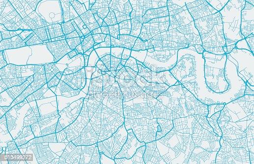London city map. Map data © OpenStreetMap contributors.