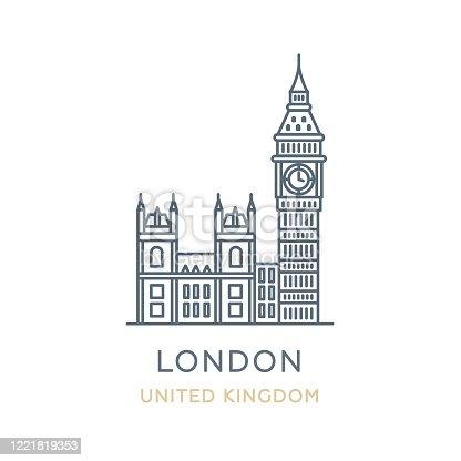 istock London city, United Kingdom 1221819353
