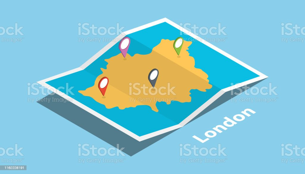 london england capital british explore maps with isometric style and...