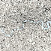 istock London, England Vector Map 1251170548