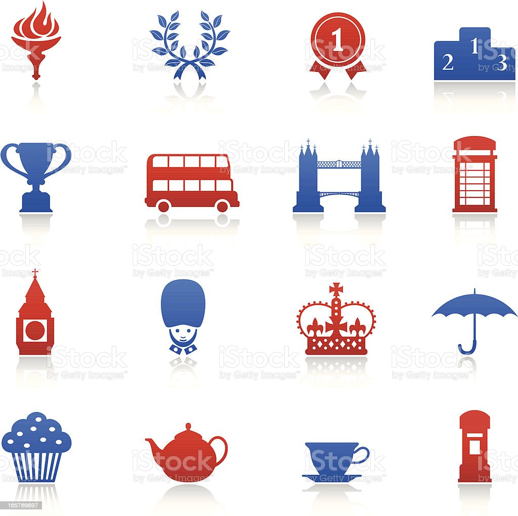 London Games Icons royalty-free london games icons stock vector art & more images of big ben