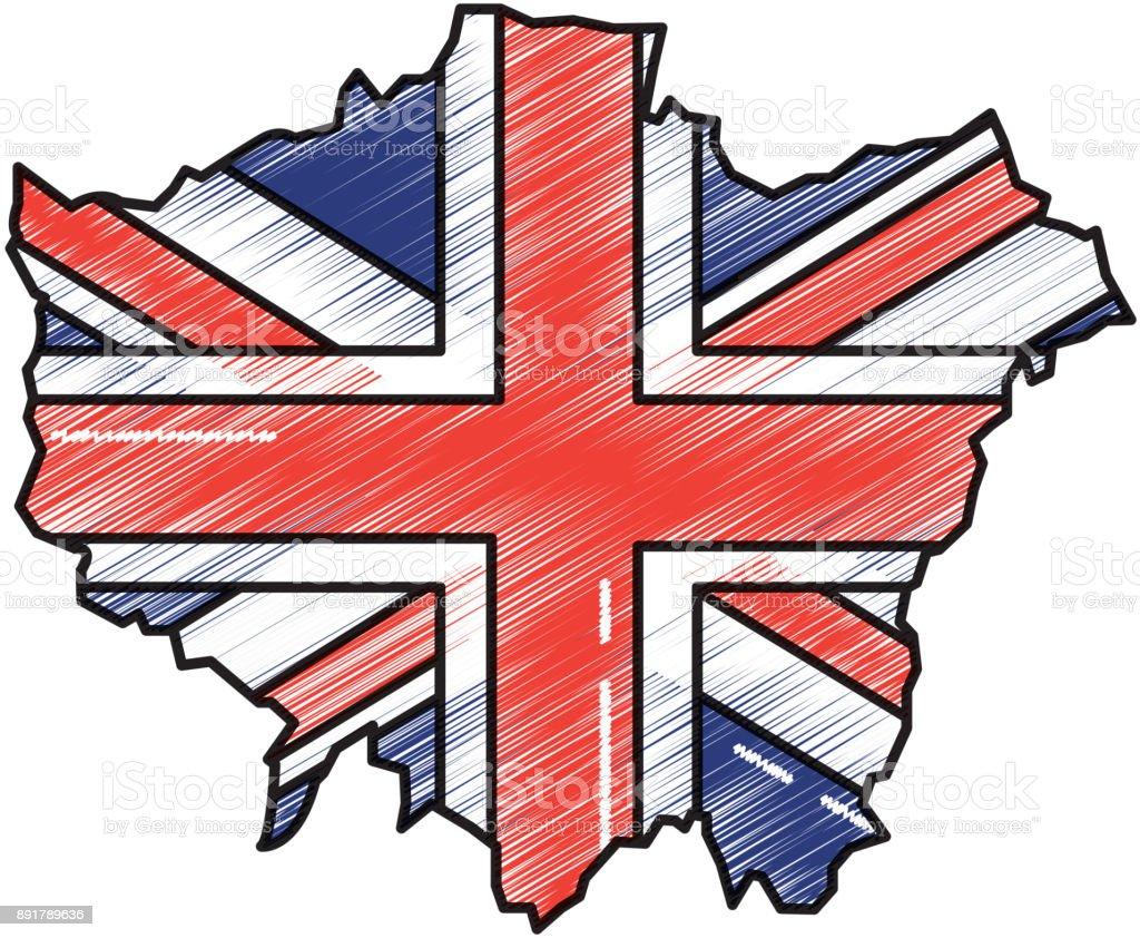 london flagge bilder  ausmalbilder