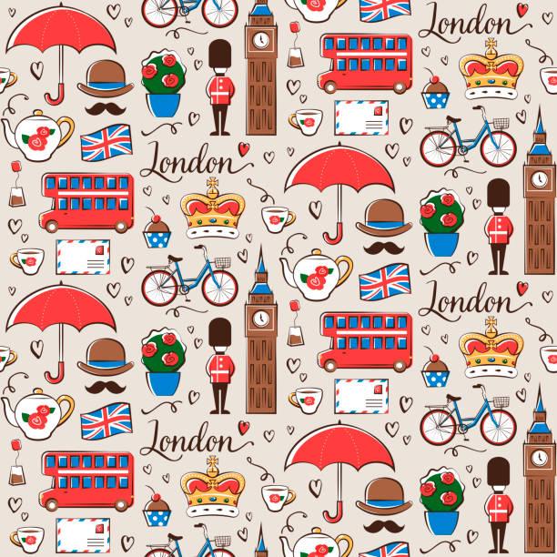 London-Muster – Vektorgrafik