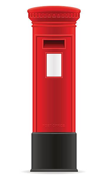 london red mail-box, Vektor-illustration – Vektorgrafik