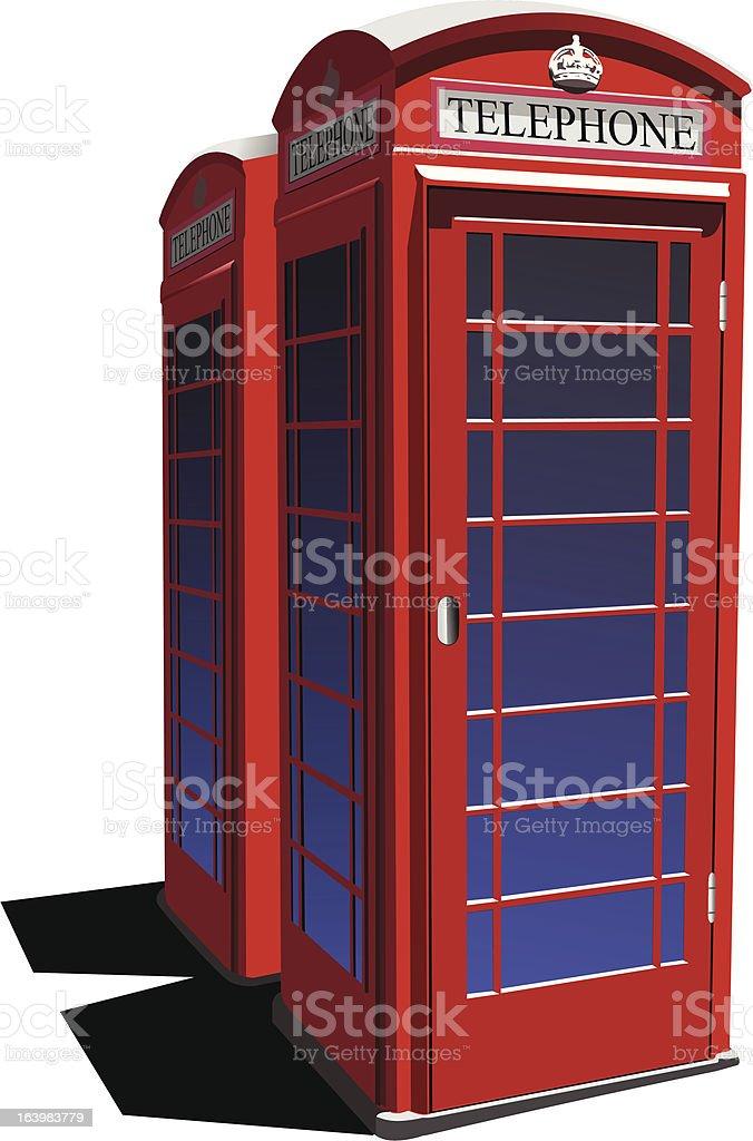 London red public phone  box royalty-free london red public phone box stock vector art & more images of communication