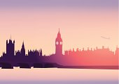 London Skyline -Vector Illustration