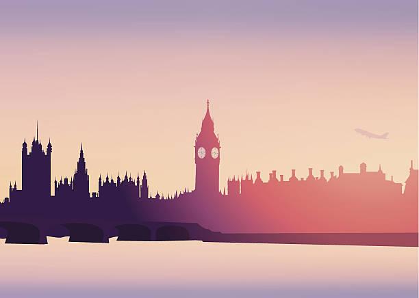 ilustrações de stock, clip art, desenhos animados e ícones de skyline de londres -vector - londres