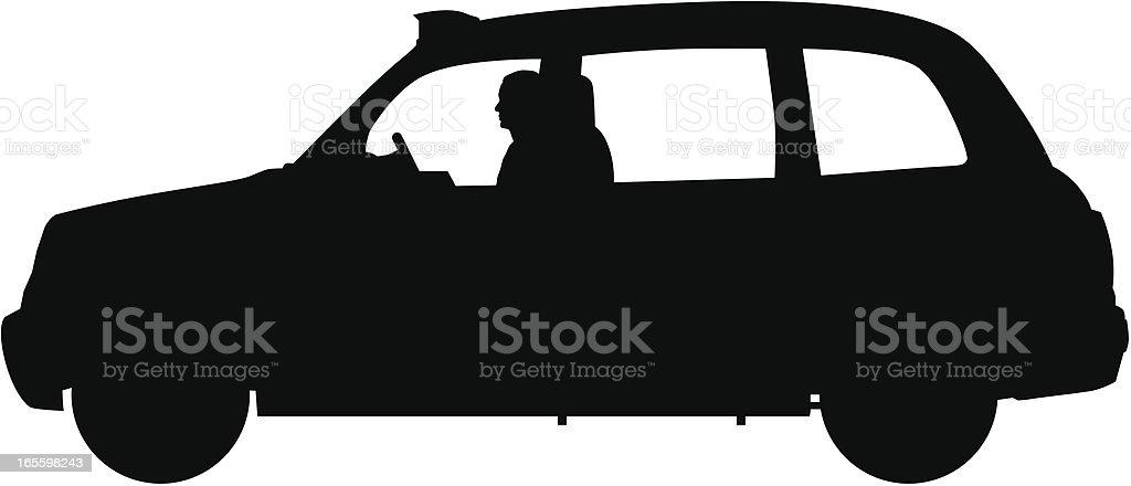 Taxi de Londres ilustración de taxi de londres y más banco de imágenes de calcar libre de derechos