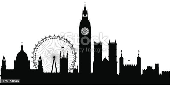 London (Each Building is Moveable and Complete)