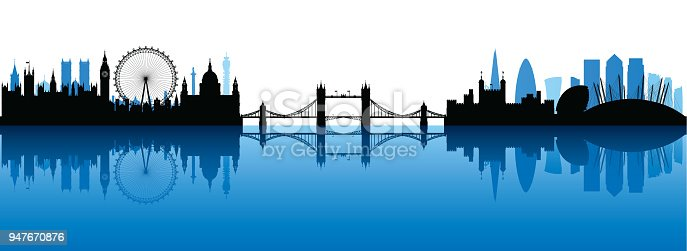 London (All Buildings Are Complete and Moveable)