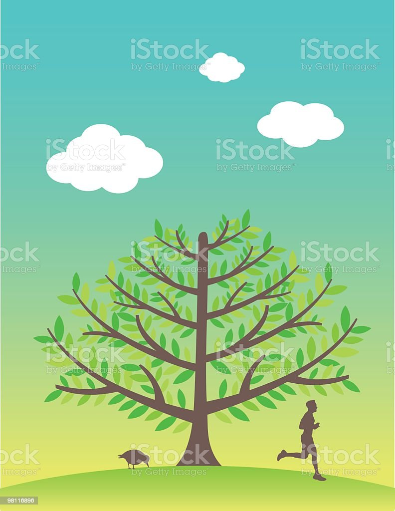 Lone tree on a hill royalty-free lone tree on a hill stock vector art & more images of adult