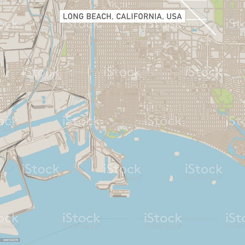 City Map California on
