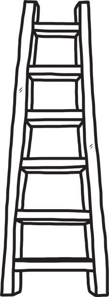 Royalty Free Short Ladder Clip Art, Vector Images