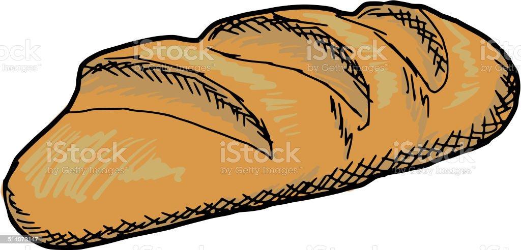 royalty free sourdough bread clip art vector images illustrations rh istockphoto com break clip art beard clip art