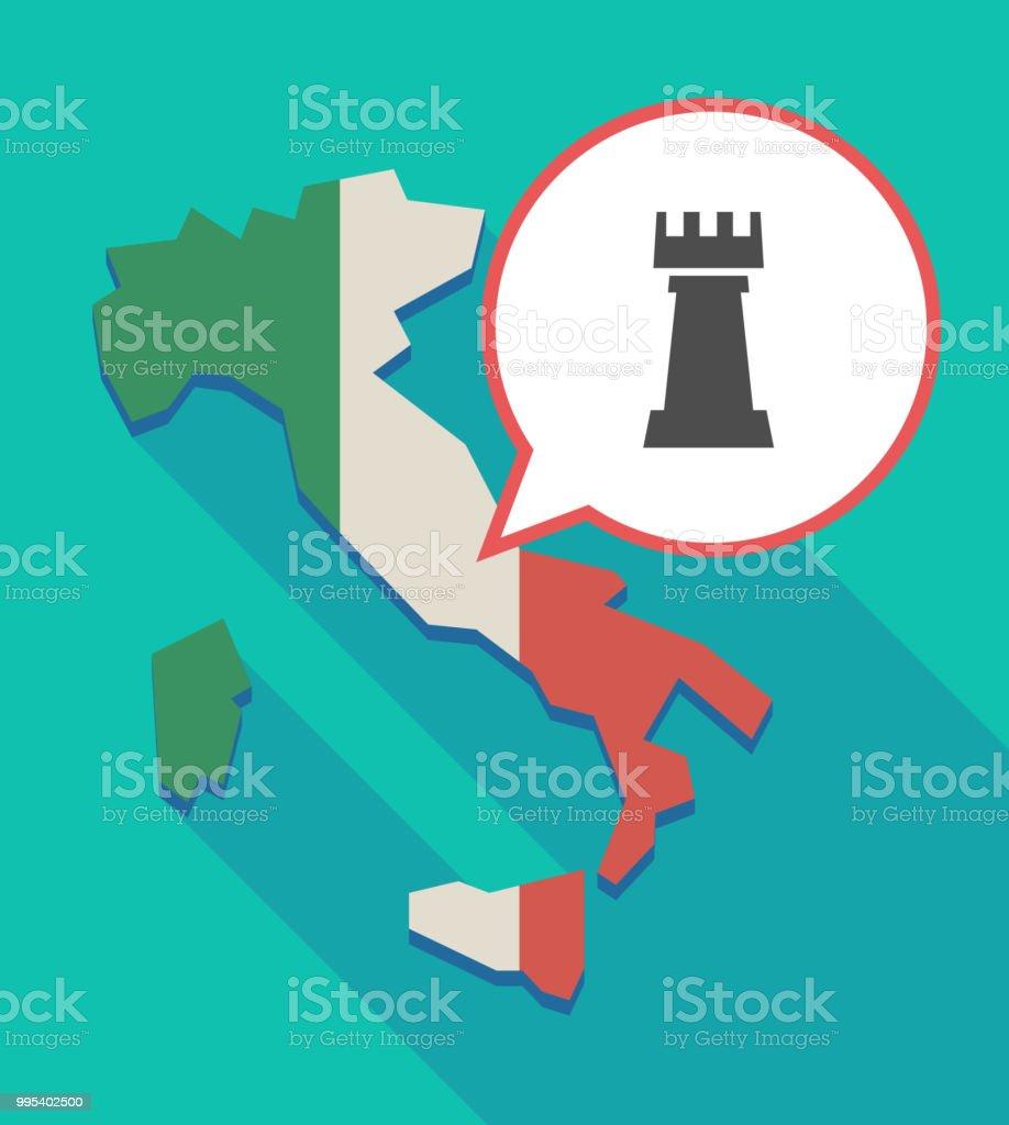 Carte Italie Jeux.Longue Ombre Italie Carte Avec Une Figurine De Jeu Dechecs Rook Vecteurs Libres De Droits Et Plus D Images Vectorielles De Ballon De Baudruche