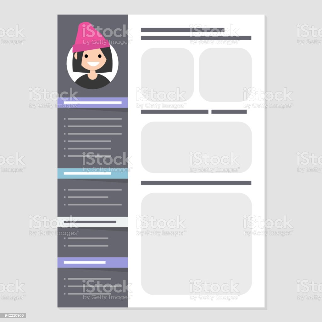 Looking For A Job Cv Template Biography Personal Information Skills