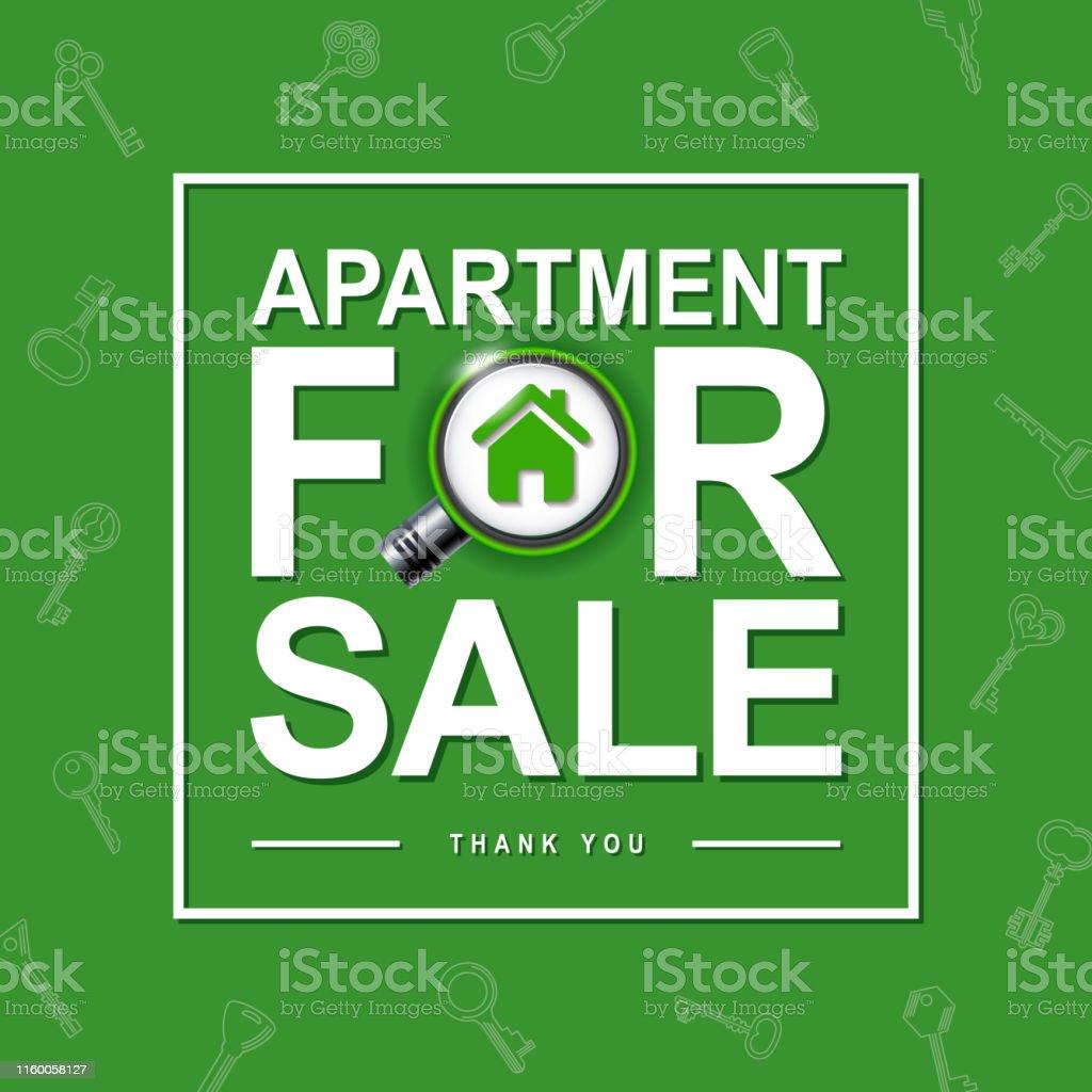 Auf Der Suche Nach Einer Wohnung Zum Verkauf Abdeckung Designvorlage