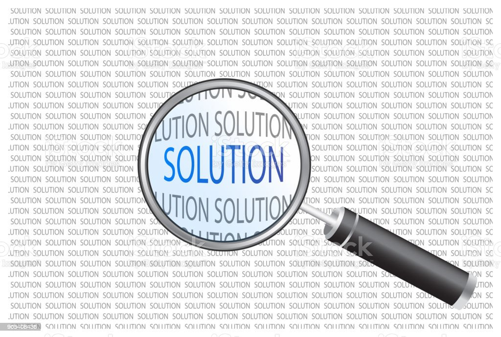 looking for solution royalty-free looking for solution stock vector art & more images of analyzing