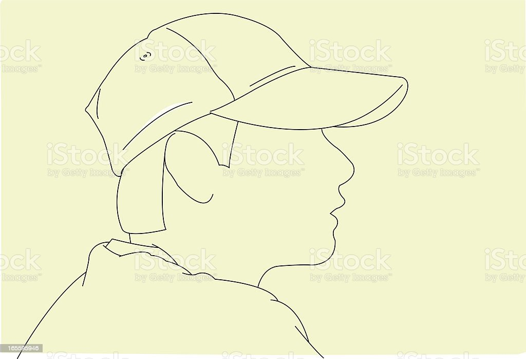 Looking Out royalty-free looking out stock vector art & more images of adult
