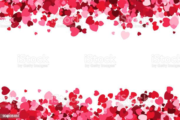 Loopable love frame pink heart shaped confetti forming a header for vector id904838484?b=1&k=6&m=904838484&s=612x612&h=vahdjt00y0anyrgvqljf57z4o9nn8khzulpxeheyrww=