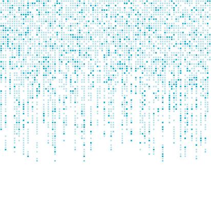 falling pixels pattern design background