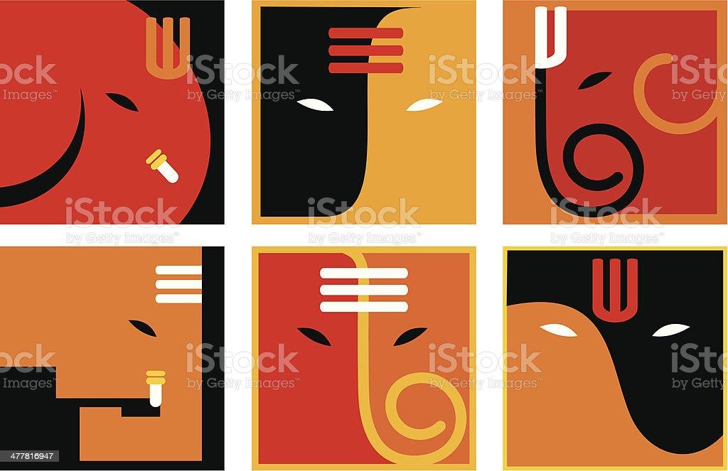 Lord Ganesha Symbols