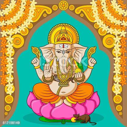 istock Lord Ganesha 512158149