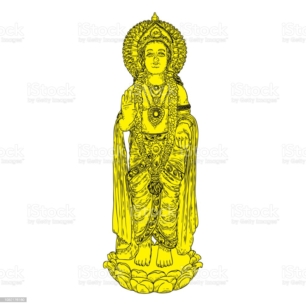 Lord Murugan Classic Statue Drawing God Of War Son Of Shiva