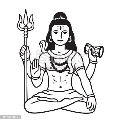 Shiva Drawing At Getdrawings Com Free For Personal Use Shiva