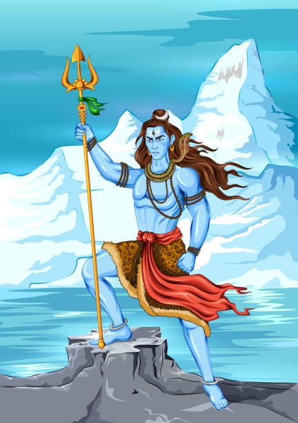 Best Maha Shivaratri Illustrations, Royalty-Free Vector ...