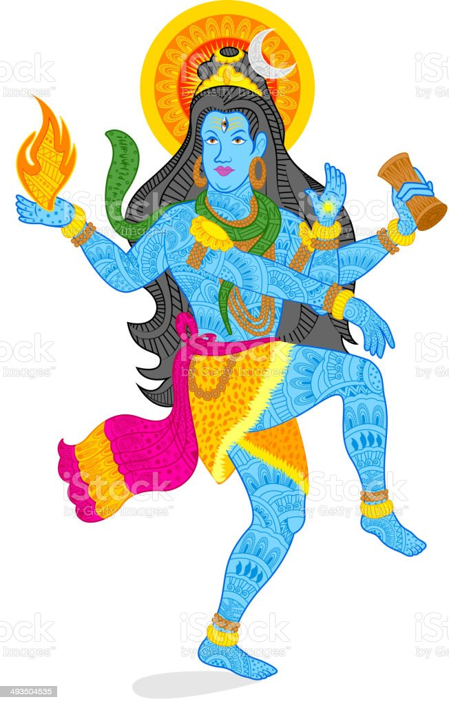 Lord Shiva Stock Illustration - Download Image Now - iStock