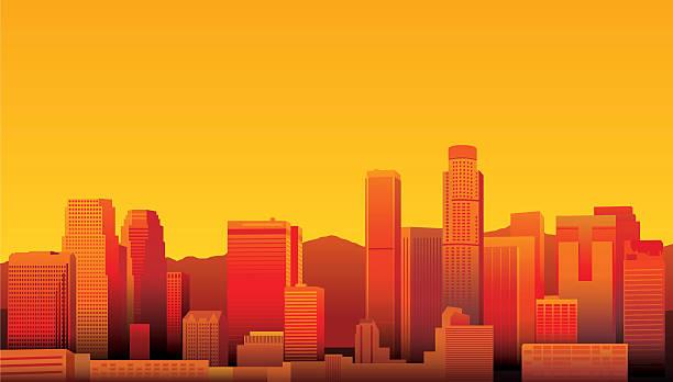 лос-анджелес - los angeles stock illustrations