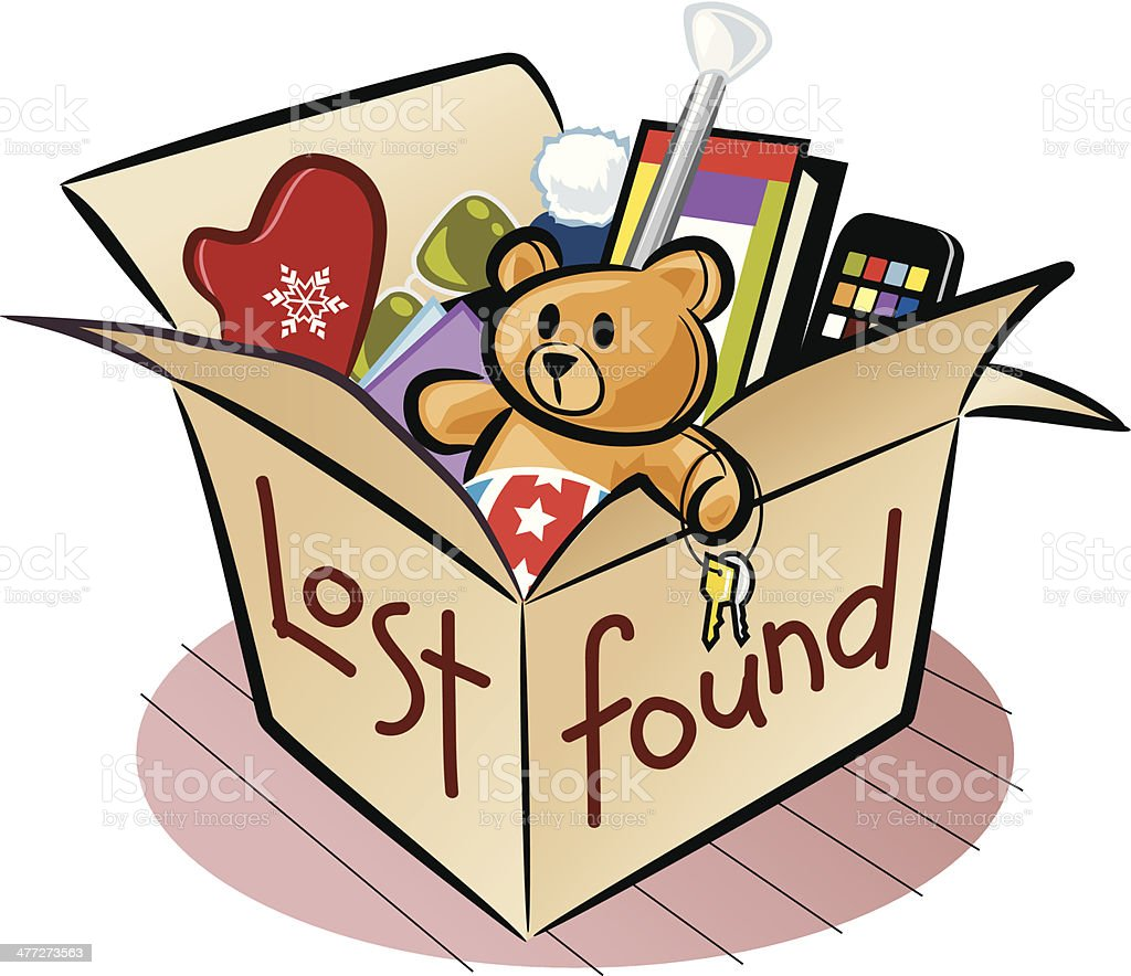 royalty free lost and found clip art vector images illustrations rh istockphoto com lost property clipart lost items clipart