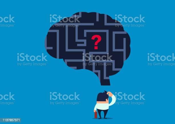 Lost the businessman wonders how to find the problem inside the brain vector id1137657371?b=1&k=6&m=1137657371&s=612x612&h=btwpd icvxbexdx8piolcj4tp5prqnxwd 5jys3dmz8=