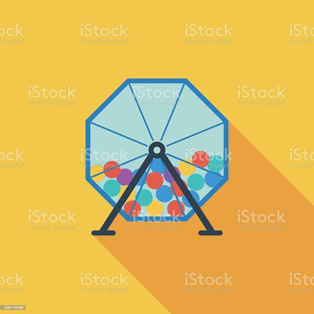 Lotteries vector art illustration