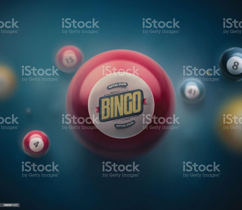 Bola de Loteria - ilustração de arte em vetor