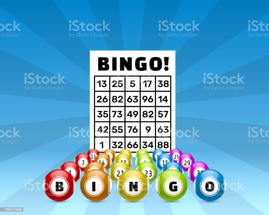 Lottery Bingo Game Balls With Numbers And Stock Illustration
