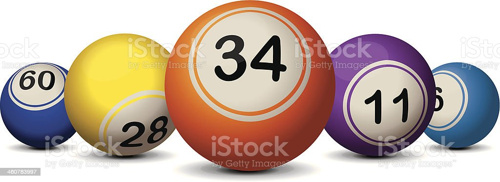lottery close royalty-free stock vector art