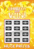 Lottery Instant Scratchcard