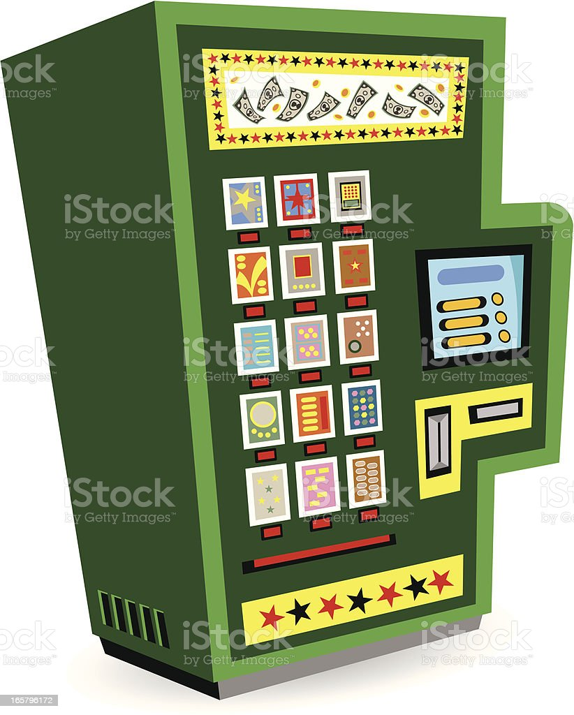 Lottery Machine royalty-free lottery machine stock vector art & more images of arts culture and entertainment