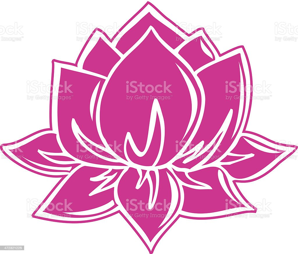 Lotus Flower Buddhist Symbol Stock Vector Art More Images Of