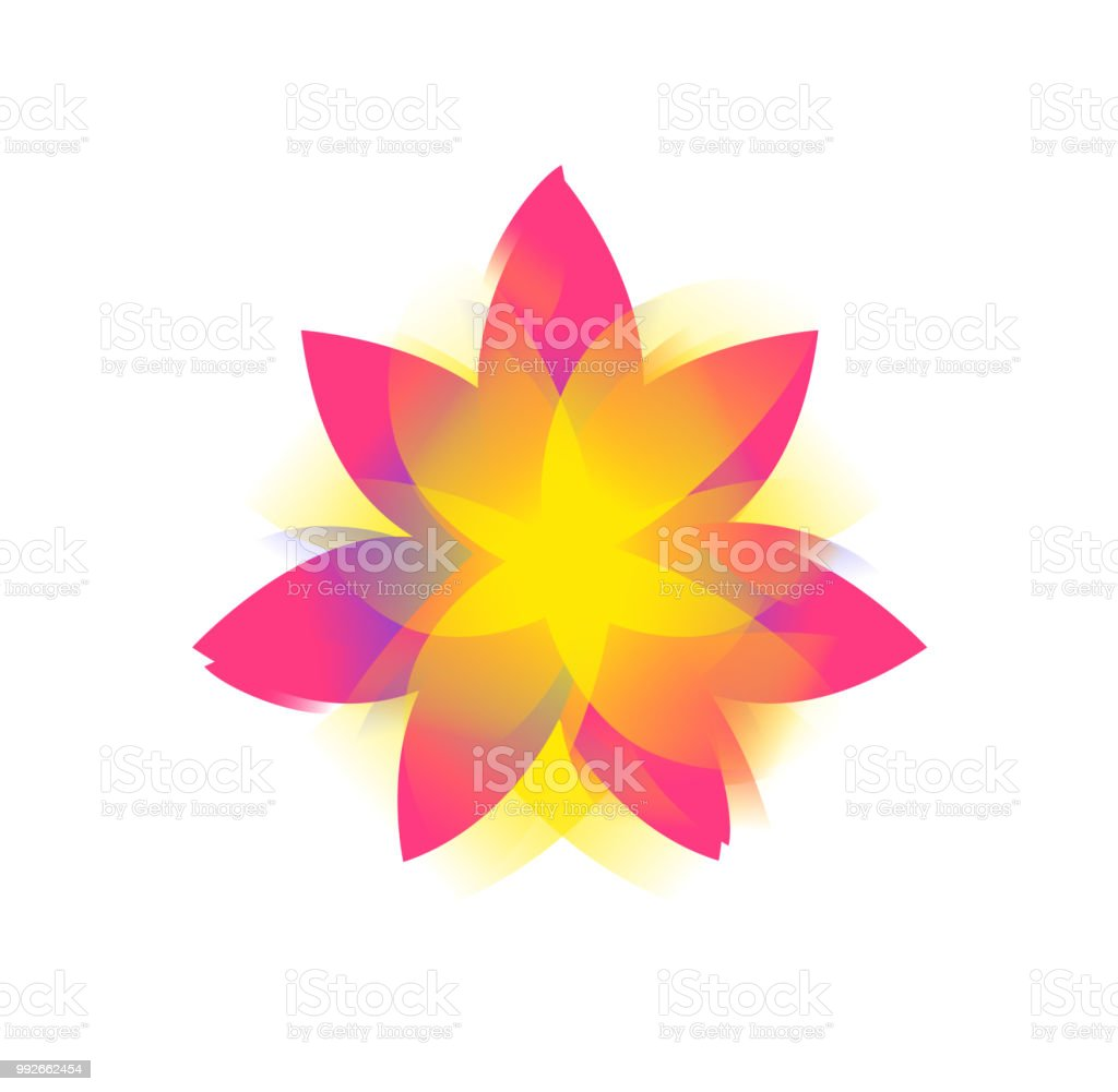 Lotus flower logo sign vector flat flower icon minimalistic image on lotus flower logo sign vector flat flower icon minimalistic image on an izmirmasajfo