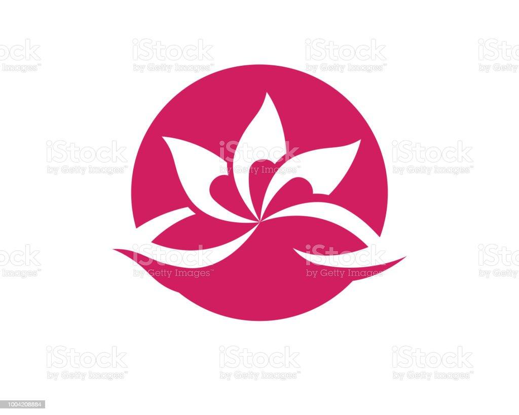 Lotus flower logo spa nature health stock vector art more images lotus flower logo spa nature health royalty free lotus flower logo spa nature health stock izmirmasajfo