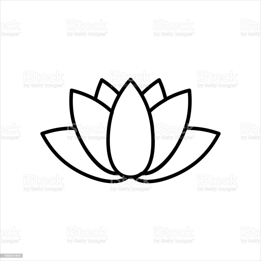 Lotus flower logo stock vector art more images of asia 1005374644 lotus flower logo royalty free lotus flower logo stock vector art amp more images mightylinksfo