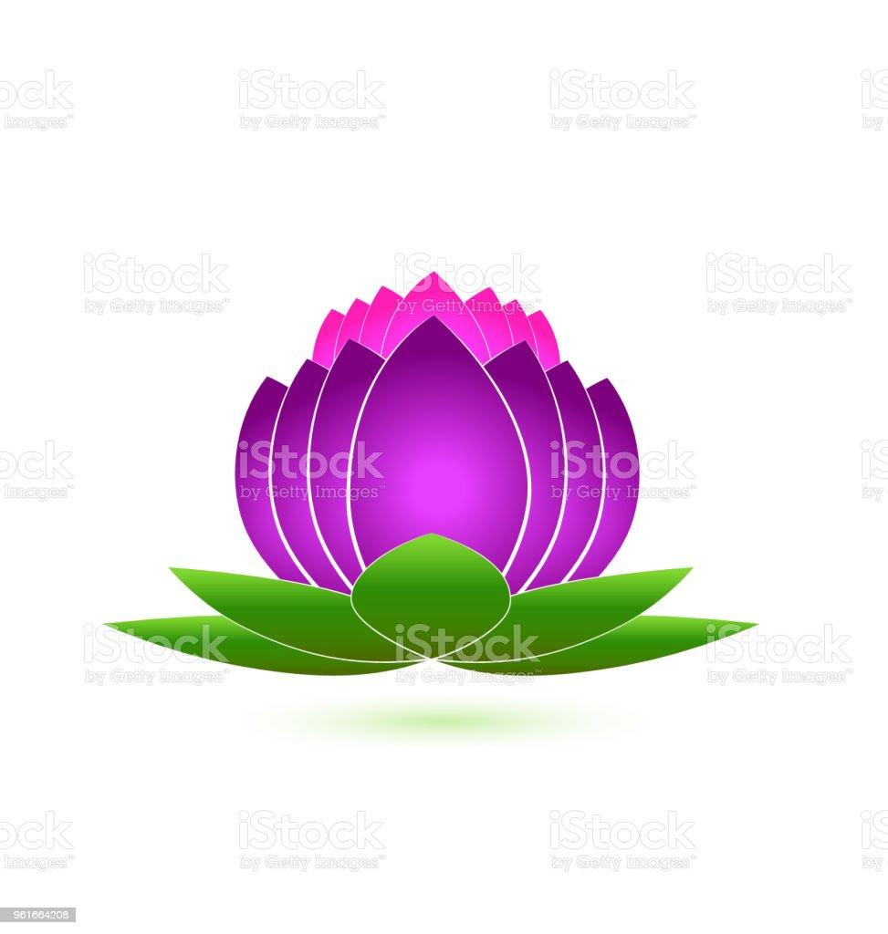 Lotus flower spa icon identity card business icon vector stock lotus flower spa icon identity card business icon vector royalty free lotus flower spa icon izmirmasajfo