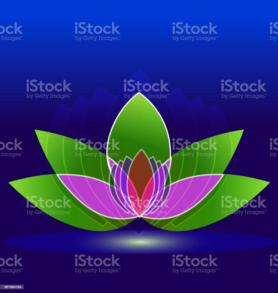 Lotus flower spa id card business icon vector stock vector art lotus flower spa id card business icon vector royalty free lotus flower spa id card izmirmasajfo