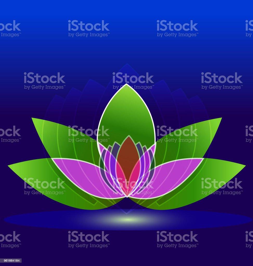 Lotus flower spa id card business icon vector stock vector art lotus flower spa id card business icon vector royalty free lotus flower spa id card izmirmasajfo