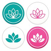 Lotus Flower Symbols